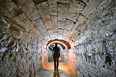 Consolidations (flallier) Tags: carrière souterraine tuffeau underground chalk quarry turonien crétacésupérieur voûtes arcs silhouette lampeacétylène lampecarbure carbure acétylène acéto souterrain tunnel galerie