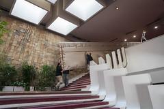 Décrochage Kijno David Trésors de Banlieues_14 (Mairie de Gennevilliers) Tags: tableau art trésors de banlieues exposition