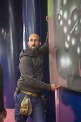 Décrochage Kijno David Trésors de Banlieues_3 (Mairie de Gennevilliers) Tags: tableau art trésors de banlieues exposition