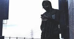 Slayer †835 (✞Slayer Tanaka✞) Tags: navajo poses themenjail themenjailevent nativeurban drift jacket neckwarmer mask fashion