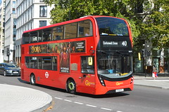 YX18 KPJ (EH219) Go-Ahead London Central (hotspur_star) Tags: londontransport londonbuses londonbus londonbuses2019 lyd alexanderdennisltd enviro400hmmc tfl transportforlondon hybridbus hybridtechnology busscene2019 doubledeck goaheadlondoncentral yx18kpj eh219 40