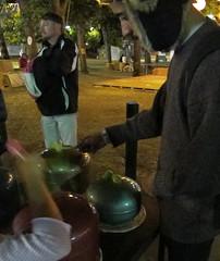 Musical gas bottles (spelio) Tags: folk festival 2013 canberra cbr easter
