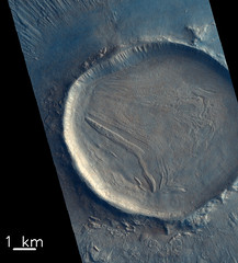 Crater fill (europeanspaceagency) Tags: esa europeanspaceagency space universe cosmos spacescience science spacetechnology tech technology exomars mars dunes panorama cool marte esagif sun moon earth solarsystem sol creativecommons roscosmos