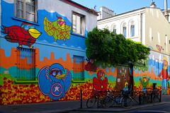 Street Art rue Jacques Louvel-Tessier (Edgard.V) Tags: paris parigi street art urban urbano arte callejero mural graffiti graff maison house casa