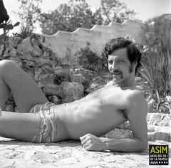 René van der Hulst (Arxiu del So i de la Imatge de Mallorca) Tags: majorca mallorca men homes hombres jardines gardens jardins