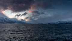 Into the Eye of the Storm (pboolkah) Tags: lyngen troms norway canon canon5d canon5dmkiv water clouds artic soe