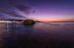 _DSC3341 (Obed PHOTTONES) Tags: lascanteras longexposure grancanaria laspalmas playa beach sunset violetsky canaryislands