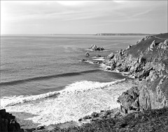côte - environ de Lesven - Finistère - Bretagne (JJ_REY) Tags: coast bretagne brittany film bw 4x5 largeformat ilfordfp4plus rodinal toyofield 45a aposironarn rodenstock 150mmf56 france