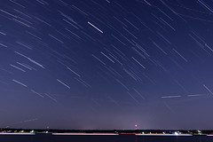 Cedar Creek Lake Star Trails (Michael Gavin Mallory) Tags: nighttime startrails stars longexposure lowlight texas gunbarrelcity gunbarrel cedarcreeklake hendersoncounty easttexas