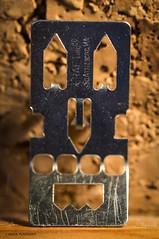 Metal face. (Jesús Puigmartí) Tags: macromondays pareidolia color light macro nikon tamron photo