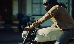 Asphalt rebel (claudia 222) Tags: ducati motorcycle man city rebel sun free street amsterdam zeiss apo sonnar t 135mm f20 zf2