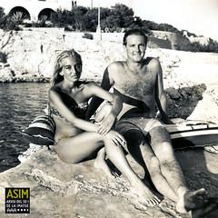 Timothy Jessel i Janet Smith (Arxiu del So i de la Imatge de Mallorca) Tags: majorca mallorca cales calas coves empresaris empresarios businessmen dones mujeres women