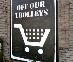 Off Our Trolleys urban art in Liverpool (Tony Worrall) Tags: nw northwest north update place location uk england visit area attraction open stream tour country item greatbritain britain english british gb capture buy stock sell sale outside outdoors caught photo shoot shot picture captured ilobsterit instragram street urban streetart paint painted wall show urbanart daub made graffiti mural art artist arty colourful liverpoolstreetart event summer liverpool merseyside