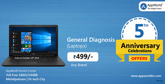 laptop diganosis. (Appworldindia) Tags: likeforlikes apple repair services iphone macbook imac ipad follow india samsung online service quality ios smartphone like good appworld