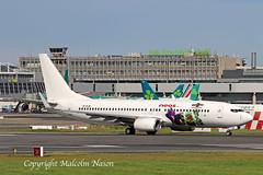 "B737-85F EI-FLM NEOS ""Angry Birds 2"" (shanairpic) Tags: jetairliner passengerjet b737 boeing737 dublin neos eiflm specialcolours"