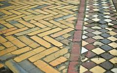 Bricks 1 (orientalizing) Tags: germany architecture schlosscharlottenburg ceramics bricks pavement featured cityscape desktop monumental berlin palace charlottenburg
