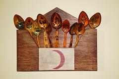 Vintage Turkish spoons (nic*j) Tags: turkey turkish wood wooden spoons