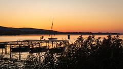 (zedspics) Tags: keszthely morningsun sunrise balaton hungary hongarije ungarn magyarország plattensee pier