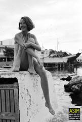 Carolyn Neilson (Arxiu del So i de la Imatge de Mallorca) Tags: majorca mallorca capdepera calarajada dones mujeres women ports molls puertos harbors