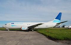 N480VX B737 48E ASL Airlines (corrydave) Tags: 25773 asl aslireland shannon b737 b737f b737400 b737400f n480vx eists