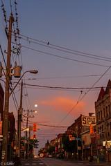 Queen west (Uta_kv) Tags: canon50mmf18 goldenhour parkdale magichour photography canoneos canon5dclassic sunrise canon5d