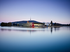 Lake Burley Griff (nudibranches) Tags: national museum canberra lake reflection australia act burley griffin longexposure