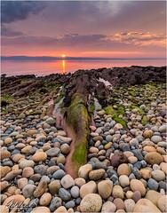 Isle of Arran Sunset (AdelheidS Photography) Tags: arran island coast scenery landscape stones lowtide sunset isleofarran scotland unitedkingdom greatbritain britishisle britain adelheidspictures adelheidsmitt adelheidsphotography