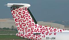 5Y-JXH LMML 16-09-2019 JamboJet  Bombardier Dash 8-Q402 CN 4604 (Burmarrad (Mark) Camenzuli Thank you for the 20.3) Tags: 5yjxh lmml 16092019 jambojet bombardier dash 8q402 cn 4604