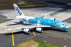 ANA Airbus A380-841; JA381A@HNL;15.09.2019 (Aero Icarus) Tags: honoluluinternationalairport hnl plane avion aircraft flugzeug hawaii oahu ana airbusa380 ja381a allnipponairways