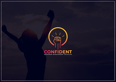 Confident logo design (Mohammod Matubber) Tags: advisory aiming business charity cliff climbing confident consulting corporate develop empower financial forward future high human information leaning logo man management moon pointing professional progress reaching stars startup toward