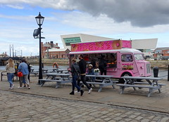 Donut van at Albert Docks Food Festival 2019 (Tony Worrall) Tags: liverpool merseyside scouse albertdocks albertdockfoodfestival event show annual foodie eat pink donut doughnuts fastfood candid people nw northwest north update place location uk england visit area attraction open stream tour country item greatbritain britain english british gb capture buy stock sell sale outside outdoors caught photo shoot shot picture captured ilobsterit instragram