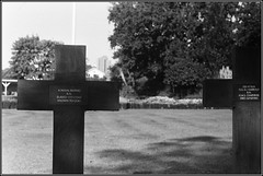 Howard Davis Park War Graves, St Helier Jersey (dpark_uk) Tags: howard davis park st helier war graves jersey channel islands elmar f28 leica iiig