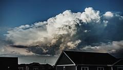 September 11, 2019 - Thunderstorms on the horizon. (Jessica Fey)