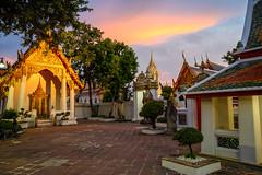 Wat Pho at sunset