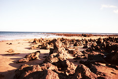 LANZAROTE (gabrielealbanesi) Tags: lanzarote asahi pentax spotmatic seimar golden hour sunset rocks wild nature