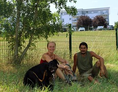 Rachel Léobet et Miguel Rebelo