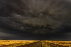 September 1, 2019 - Stormy skies on the plains. (Jessica Fey)