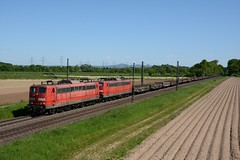 Railpool 151 073 + 151 022 Bornheim (klok.richard) Tags: db dbcargo railpool rpool zug eisenbahn güterzug