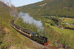 No. 7 Owain Glyndwr (gareth46233) Tags: 7 owain glyndwr cwm rheidol vale railway aberystwyth devils bridge wales