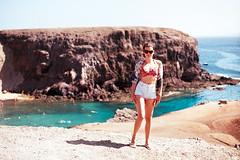 LANZARORE PLAYA DE PAPAGAYO (gabrielealbanesi) Tags: lanzarote asahi pentax spotmatic kodak ektar takumar beach papagayo playa