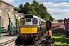 27024 (D5370) runs round train at Brechin