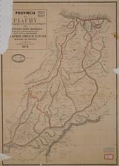 Mapa da Província do Piauí, segundo o projeto de nova divisão do Império, 1875 (Arquivo Nacional do Brasil) Tags: piauí mapaantigo mapasantigos mapa mapas geografia cartography cartografia arquivonacional arquivonacionaldobrasil nationalarchivesofbrazil nationalarchives