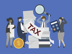 Business people and bankers with money illustration (anil.webrication) Tags: accounting analysis assessment banker banking business calculation character checking commerce corporate costs customs debt deposit dollars duty economics economy entrepreneur expense fee finance financial fund graphic illustrated illustration income investment isolated management money payment people profit salary services smallbusiness startup statement tariff tax tithe toll trace trade transactions vector