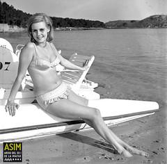 Kaarina Leskinen (Arxiu del So i de la Imatge de Mallorca) Tags: mallorca majorca pollença formentor models modelos beaches playas platges velomars velomares