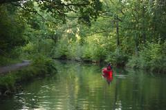 No hurry 1 (John Spooner) Tags: peace peaceful tranquil tranquility boat canoe canal basingstoke panasonic lumix gx80 gx85