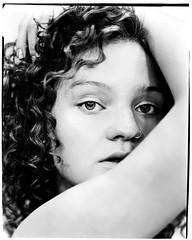 **** (ally.fane) Tags: analogue analog girlsonfilm largeformat toyo xrayfilm fujifilm 4x5film blackandwhite model film portrait