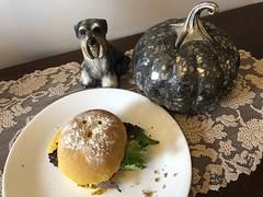 A Ghostly Pumpkin Brioche of Roast Beef for Supper 🎃 #3 (Cabinet of Old Secret Loves) Tags: halloween spooky haunting hauntedfood haunted hauntedyeast baking bread pumpkinbread m emmabelanger murtagh13 threecatsadogandacamera