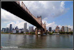 NO HAY CIUDAD SIN PUENTE. THERE IS NO CITY WITHOUT A BRIDGE. NEWYORK CITY. (ALBERTO CERVANTES PHOTOGRAPHY) Tags: thereisnocitywithoutabridge bridge water river sea ocean city manhattan usa nyc newyork indoor outdoor blur building reflejo reflection nubes clouds sky landscapes cityscapes skyscraper skyline retrato portrait luz light color colores colors brillo bright brightcolors lightcolor streetphotography photography photoborder photoart art creative without
