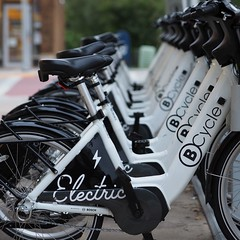 new kid in town (S A Kindstrom) Tags: madisonwisconsin monroestreet ebike sigmalens