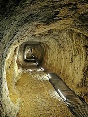Tunnel of eupalinos (Jenny Hail) Tags: samos greece tunnel lightphotography underground tunnelofeupalinos